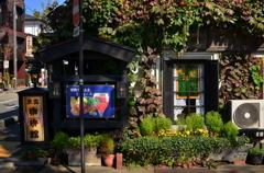 街の喫茶店