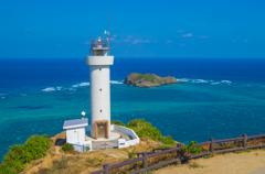石垣島の美ら海 平久保崎灯台