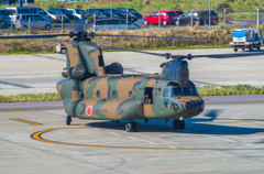 CH-47JA 南ぬ島 石垣空港