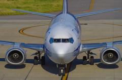 Boeing 737 南ぬ島 石垣空港