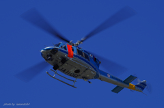 岐阜県警 Bell412EP(JA110G)