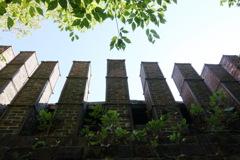 古窯の煙突