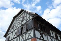 ドイツの古い家(博物館リトルワールド)