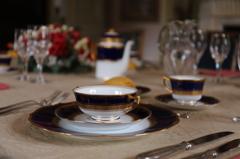 明治の上流階級のテーブル