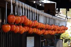 妻籠宿の秋