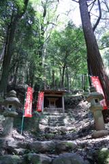 飯盛山(愛知県)にあった小さなお社