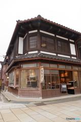 金沢東茶屋街にある「きんつば」の有名店