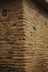 お寺の土壁