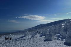 樹氷トレッキングツアー