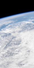 青と白の地球