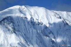 真冬の禿岳
