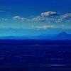 仙台平野から100名山・蔵王を望む
