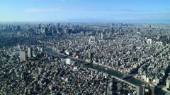 日本の中心を縫う隅田川