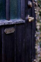 北の森のティーハウス (オーナー専用のドア)