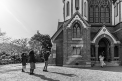 教会を撮る