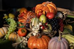 秋の収穫(カラー版)