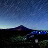 夜の富士山ドライブ