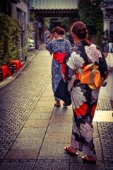 Kawagoe Kimono Girls