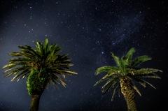 宮崎の夜空