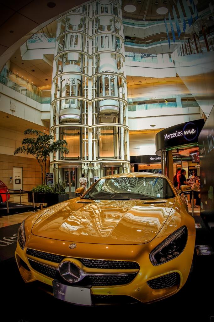 Mercedes me Tokyo HANEDA ⑴