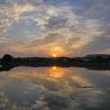 日の出キラキラ