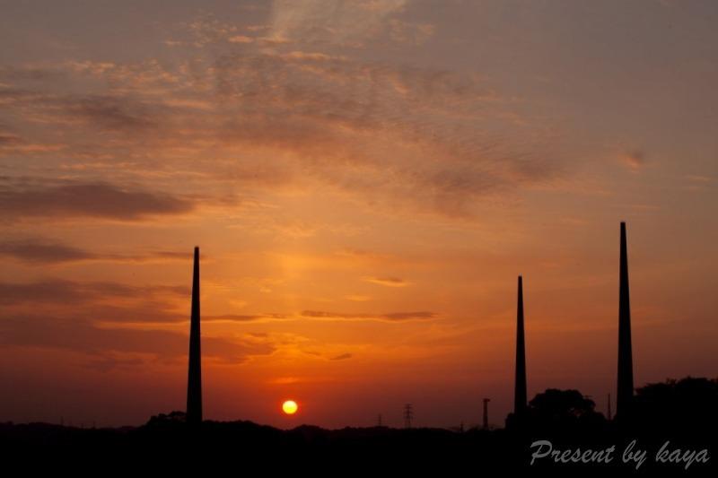 歴史に沈む夕陽