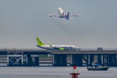 thai jumbo takeoff