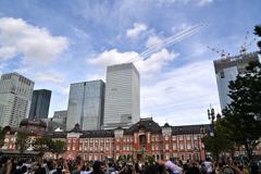 東京パラリンピック (展示飛行の予行)
