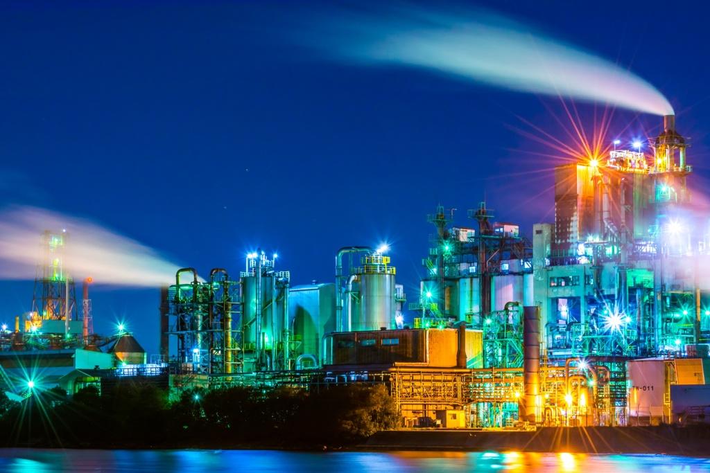 新日鉄の工場