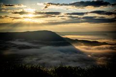 阿蘇山の日の出3