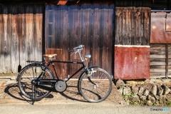 錆びと自転車と私
