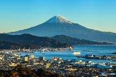 日本平より富士山を望む