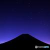 星空の富士山