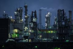 O県M島工業地帯に行ってきました