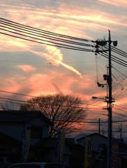 今日の夕方20161218(^^)