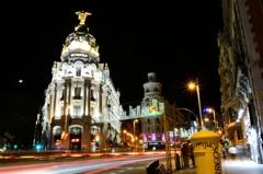 Bright Spanish night
