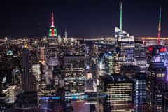 ニューヨークの夜景です