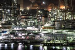 M島工業地帯の輝き
