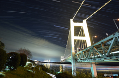 Bridges and stars night