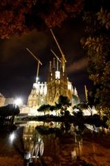 バルセロナの夜明け 7時8分