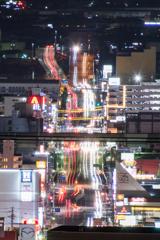 昨日の写真の夜景バージョンです(^^)