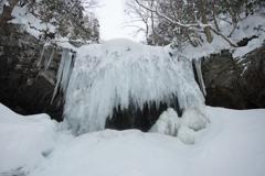 岩井滝ー冬編
