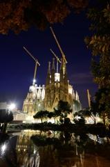 バルセロナの夜明け 7時22分