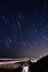 瀬戸の星景