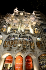 A night of Casa Batlló