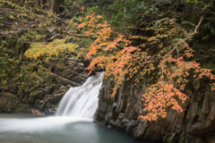 大山滝の下段