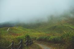 曽爾高原 秋雨