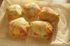枝豆とチーズのリュスティック