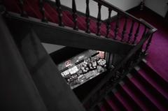 萬翠荘・階段