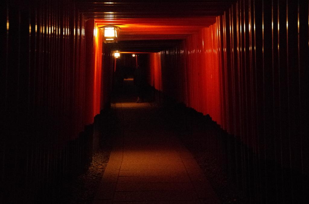 夜の京都~迷宮の世界へようこそ~
